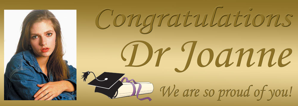 Congratulations On Your Graduation Gold Effect Background