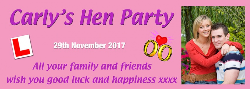 Hen Party Photobanner