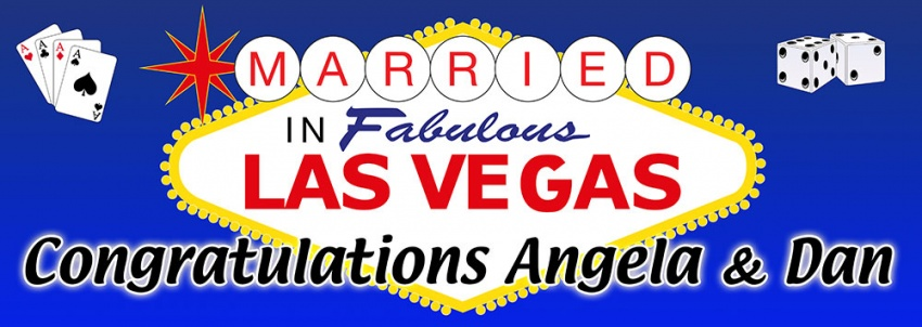 Las Vegas Wedding Banner